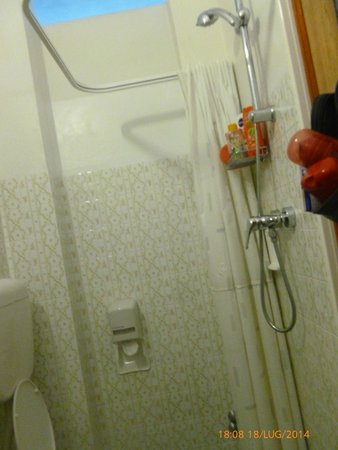 Hotel Gabicce: Doccia