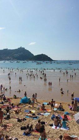 Playa de La Concha: Mare