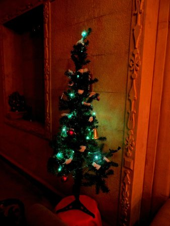 Hotel Pleasant Haveli: Little Christmas tree for Christmas Day