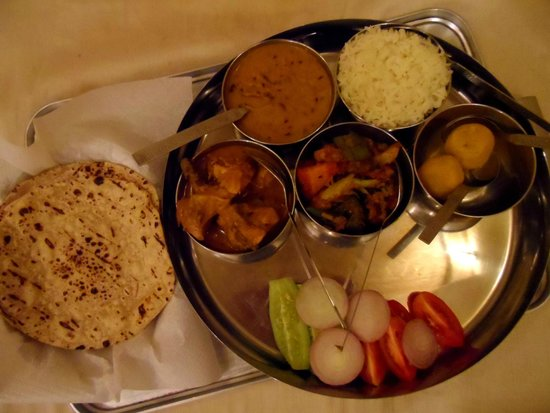 Hotel Pleasant Haveli: A not so delicious thali