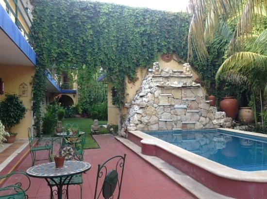 Hotel Mucuy: jardin y alberca