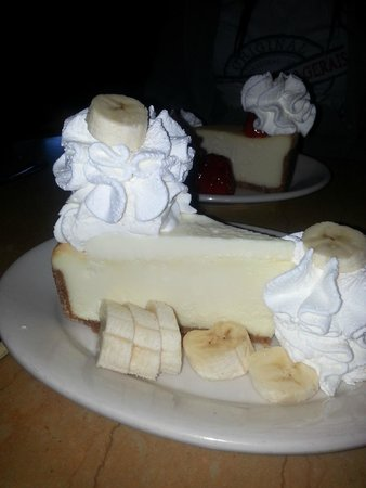 The Cheesecake Factory: Cheesecake de banana