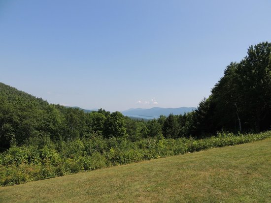 Prospect Mountain: View from one of the look outs