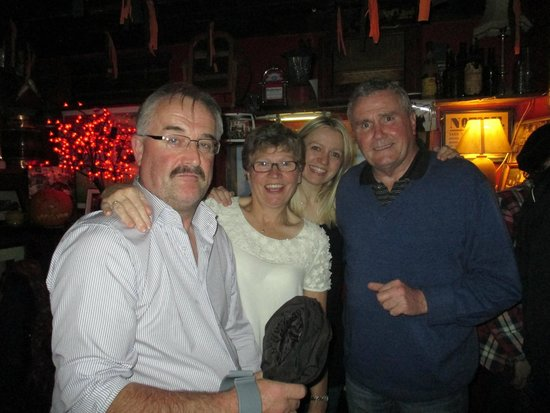 The Bridge Bar: The family and I and warm background