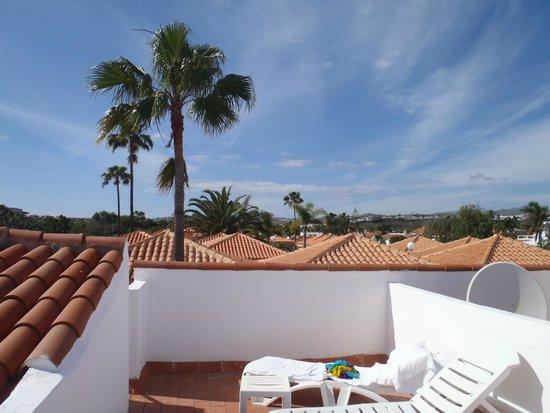 Кoof terrace. Bungalows El Trigal №5