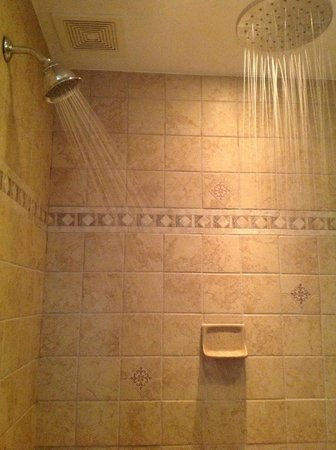 The Australian Walkabout Inn Bed & Breakfast: Deluxe shower in the Victoria Suite