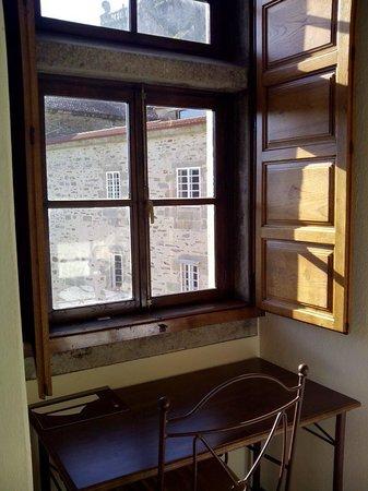 Hospederia San Martin Pinario: Interior de la habitación