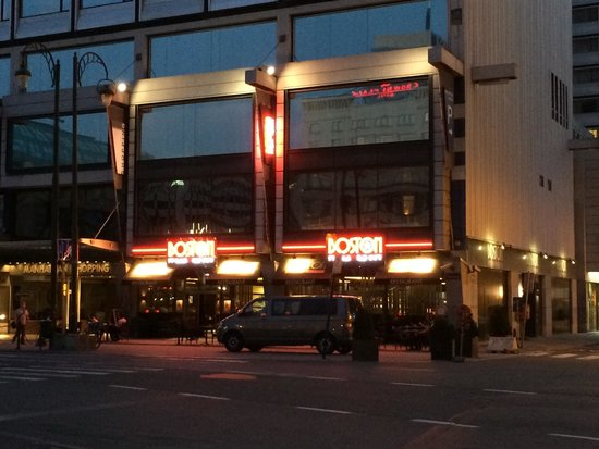 Boston Steak House Rogier : Front view...