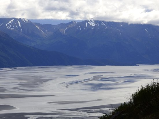 Hotel Alyeska: Turnagain arm from the top of mountain