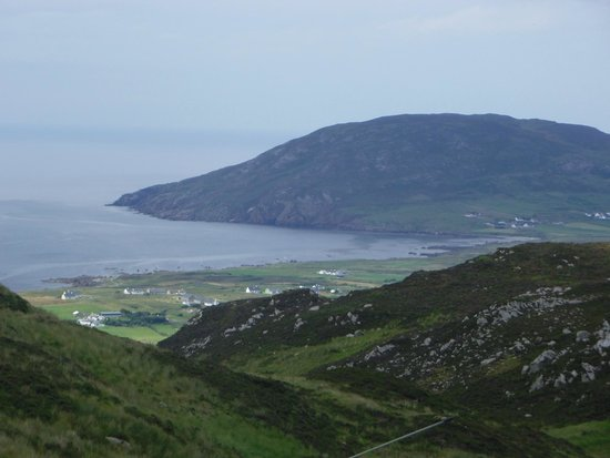 The view from Mamore Gap