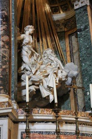 Extase de Sainte Thérèse : Exquisite detail