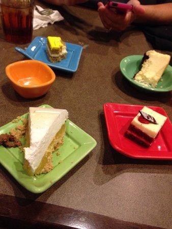 Harrah's Joliet: Dessert bar