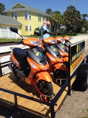 Bike-Scoot-Or-Yak Rentals of Jax Bch : Scooters for rent