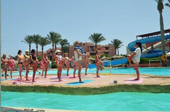 Rehana Sharm Resort: Зарядочка