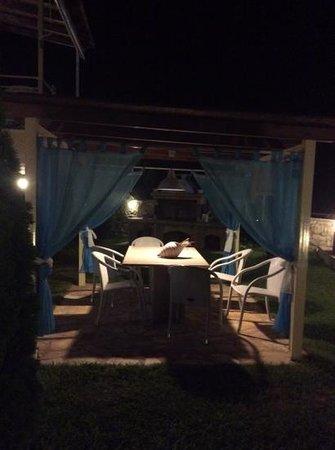 Gea Villas Lefkada: pavilion