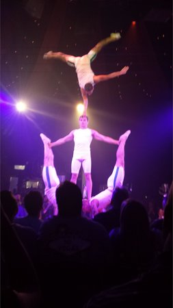 Treasure Island - TI Hotel & Casino: acrobats