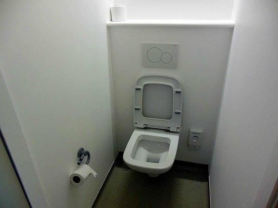 Hotel ibis budget Edinburgh Business Park: Toilet
