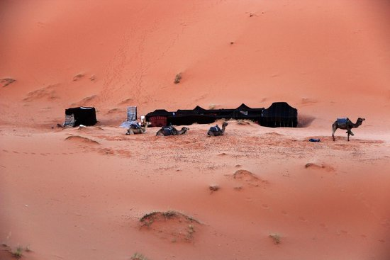 Chez les Habitants : Kamp in de Erg Chebbi woestijn