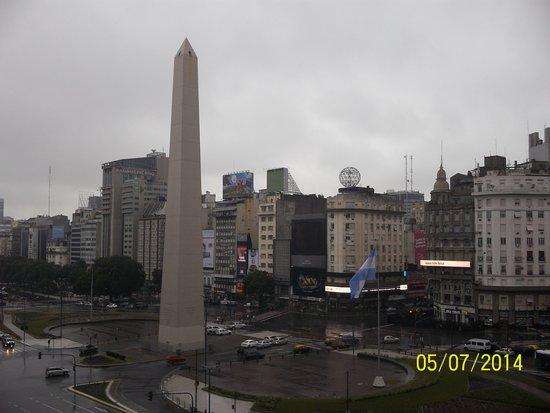 Park Silver Obelisco : Vista desde el balcón de la habitación