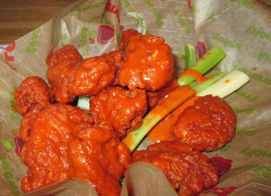 Applebee's: Mild wings appetizer