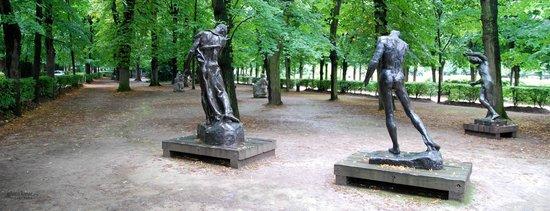 Musée Rodin : Garden fun