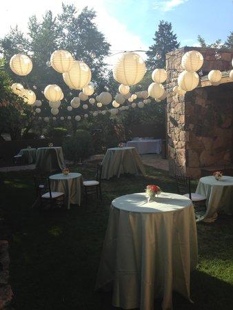 Bishop's Lodge Resort & Spa: The Courtyard