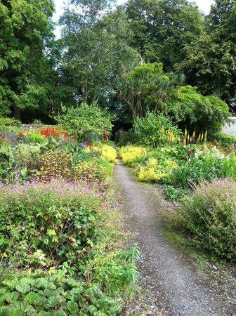Achamore Gardens : Achamore walled garden July 2014