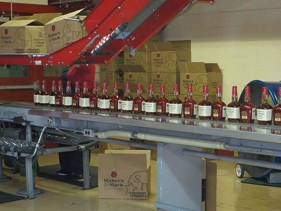 Maker's Mark : Bottling