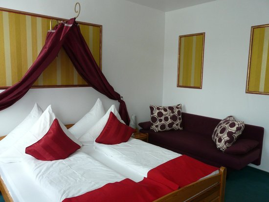 Rheinhotel Lilie : Our room