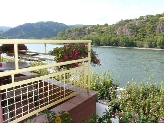 Rheinhotel Lilie : Our Balcony