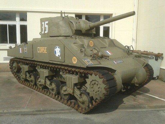 Musée des blindés : Tank