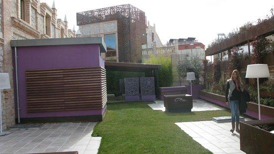 Hotel AF Pesquera : Jardín