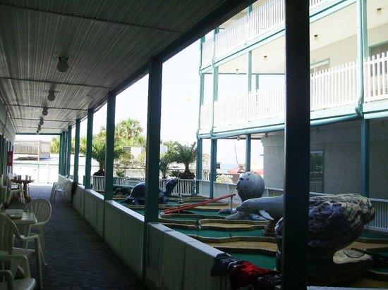 The Sandpiper Beacon Beach Resort: Partial Ocean View Room