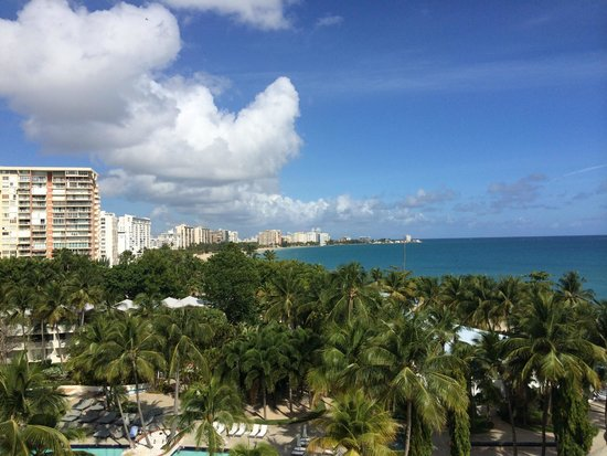 El San Juan Hotel, Curio Collection by Hilton: Ocean View from my room