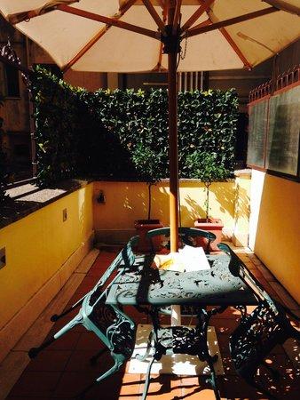 Hotel Artemide : Room 115 balcony