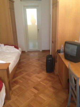 Grand Hotel Europa: Eenpersoonsbed