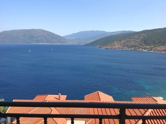 Kefalonia Bay Palace : a view from the room 310 balcony.