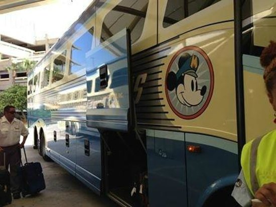 Disney's Animal Kingdom Lodge : complimentary Micky bus from Airport