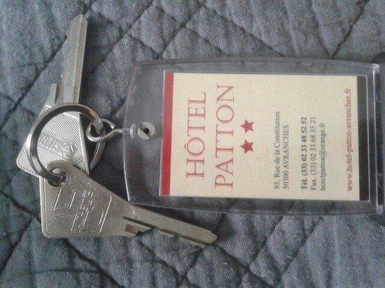 Hotel Patton : Chiavi