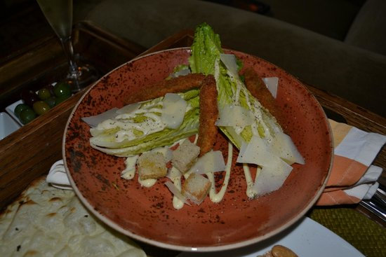 Kenwood Inn and Spa, A Four Sisters Inn: Cesar Salad w/ Anchovy Crisps