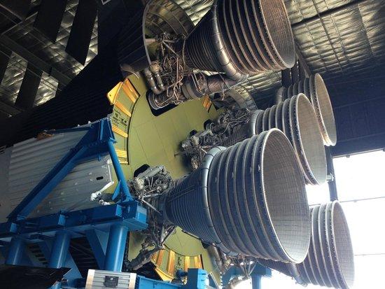 U.S. Space and Rocket Center : Saturn V Engine