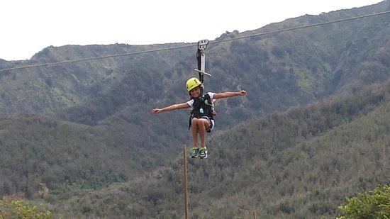 Maui Zipline Company: plenty of adrenaline and fun