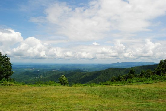 Rocky Knob Recreational Area : View From Rocky Knob Outlook