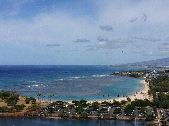 Hawaii Prince Hotel Waikiki: Beautiful View from our room ��