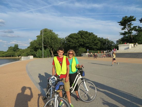 Bike and Roll DC : Mother and son trip