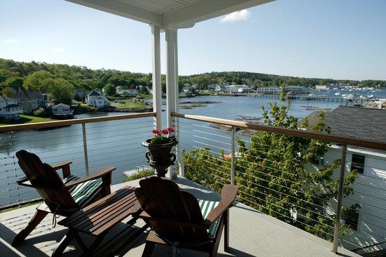 Harborage Inn on the Oceanfront: Room 8 Deck View
