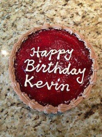 Acadian Bakery Chocolate Raspberry Birthday Cake