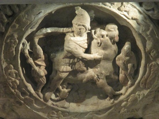 Museum of London : From Mithras Temple