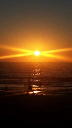 Club Marmara Marina Beach : Couché de soleil magnifique
