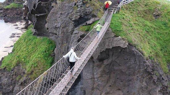 Carrick-A-Rede Rope Bridge : Carrick-a Rede rope bridge